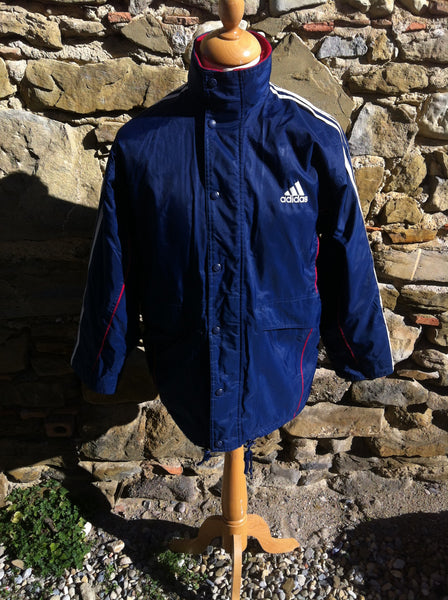 Navy Adidas Managers Jacket