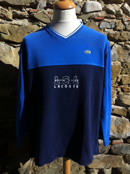 Vintage blue mix Lacoste LCL Sweater