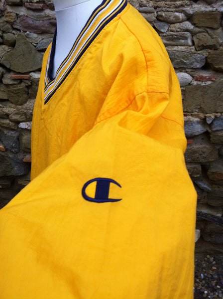Vintage yellow Champion Pullover Jacket