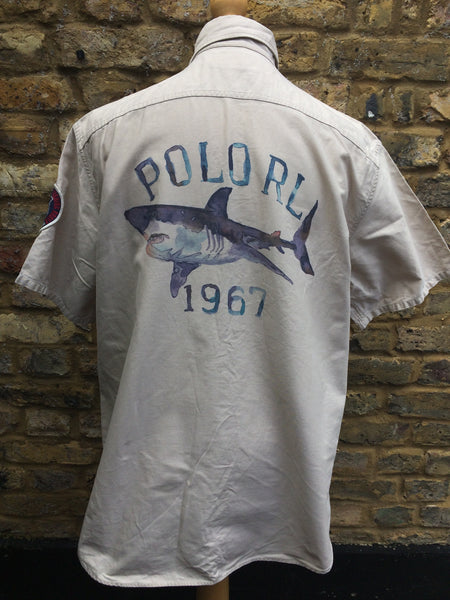 Vintage '03 Polo Ocean Floor Shirt (L/XL)