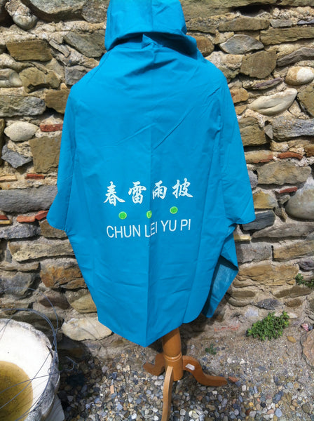Heavy PVC Chinese Anorak Jacket