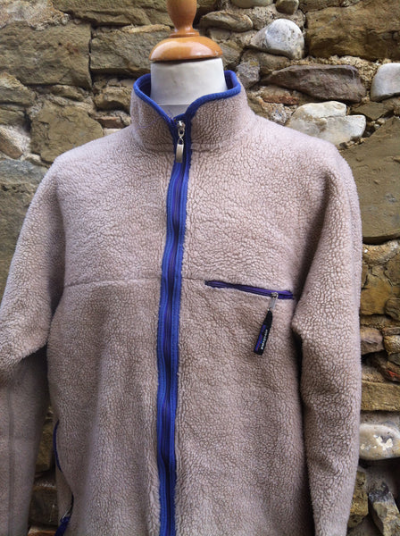 Thick Brown Patagonia Fleece Jacket