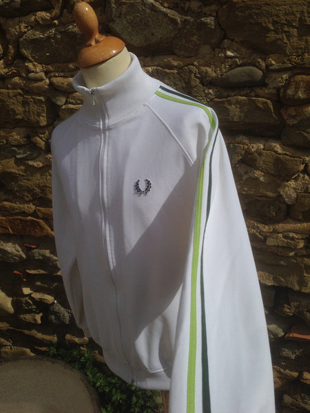 Vintage mixed Green Fred Perry Track Jacket (M)