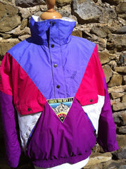 Vintage K2 'Touch the Sky' Ski Pullover Jacket