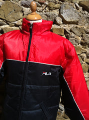 Vintage Two tone Fila Puffer Jacket