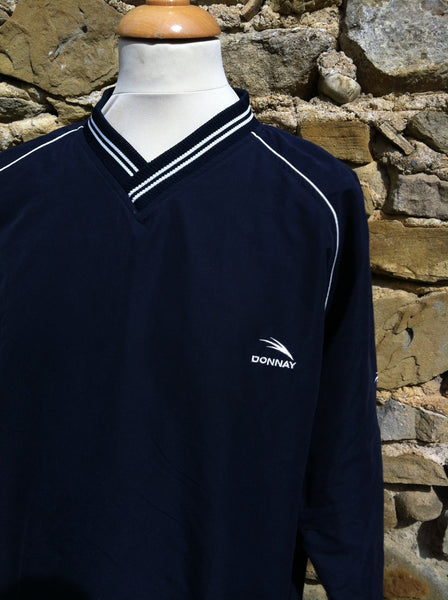 Vintage Navy Dunlop Zip Away Jacket