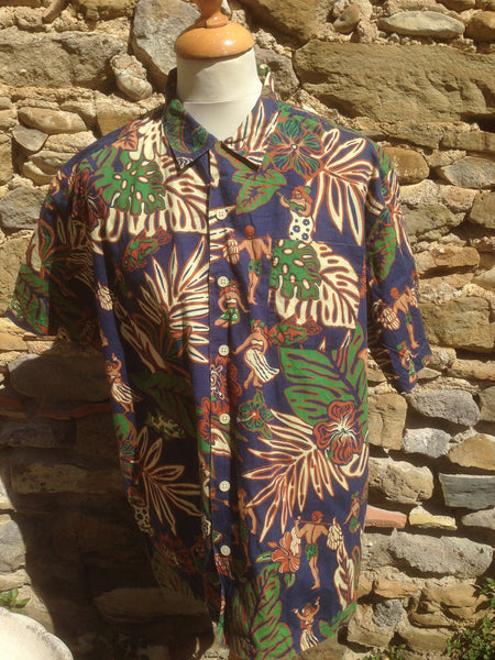 Vintage Polo Sport Hawaii Shirt (L)