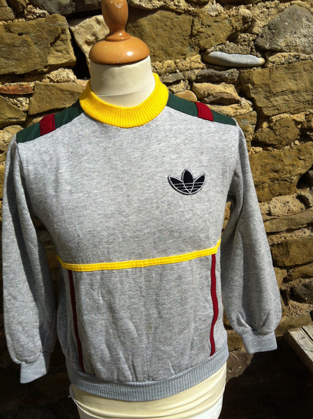 Vintage rare Early Adidas Tre Foil Sweater