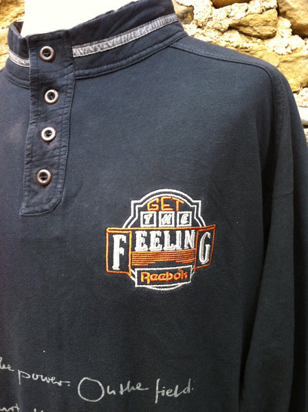 Vintage 'Get the feeling' Reebok Pullover