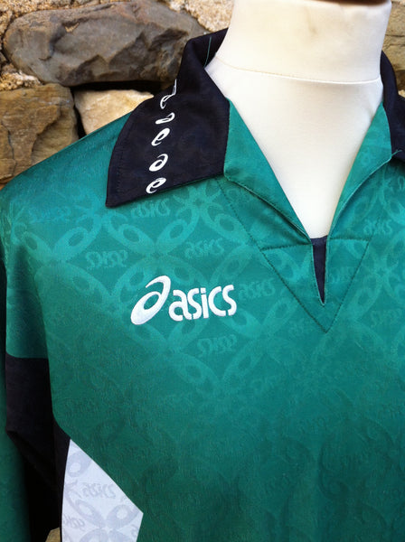 Vintage Green Asic's Sports Shirt (M/L)