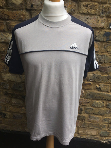 Vintage Adidas 3 stripes Cotton Top (M)