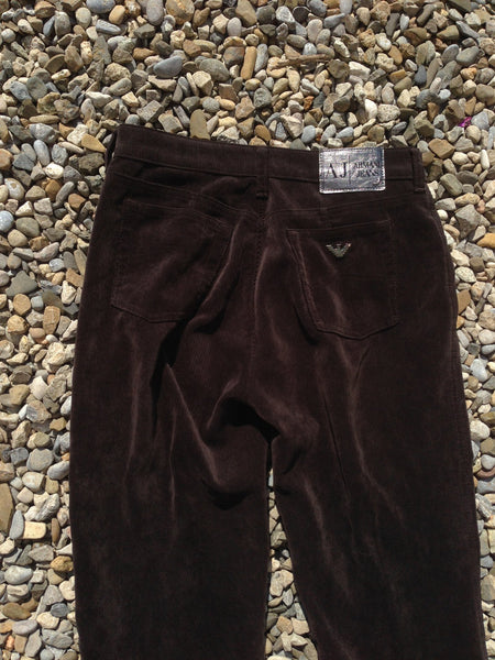 Womens Armani corduroy Trousers (30)