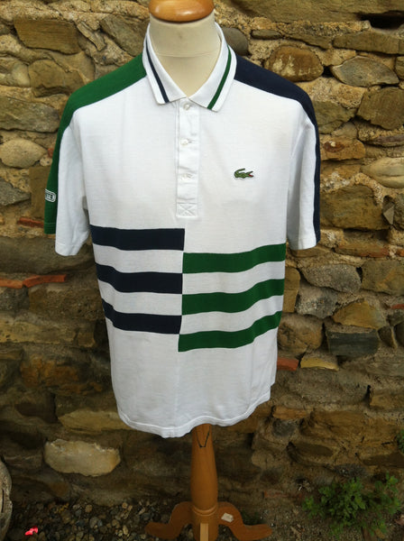 Two tone Lacoste striped Shirt