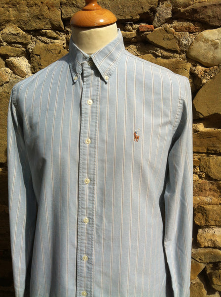 Vintage grey lined Polo Shirt