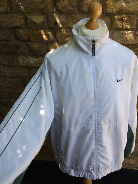 Vintage Green split Light Nike Jacket (L)