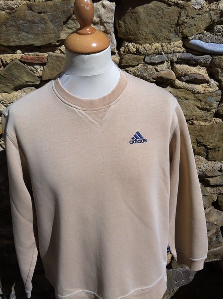Vintage Tanned Adidas logo Sweater