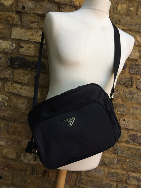 Vintage Prada Messenger Bag