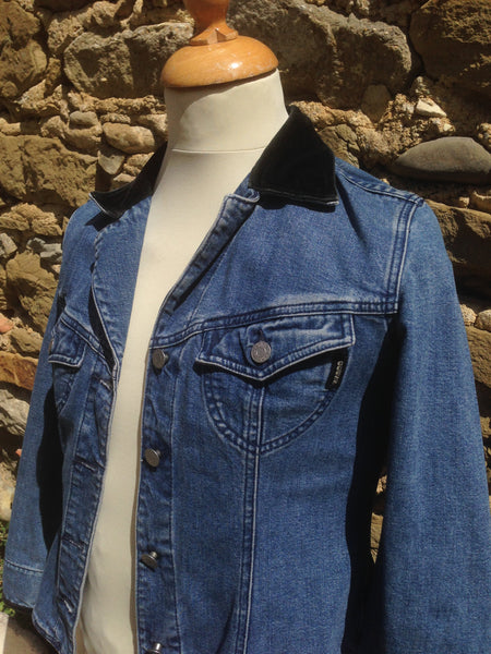 Vintage Womens Guess Denim Jacket (S)