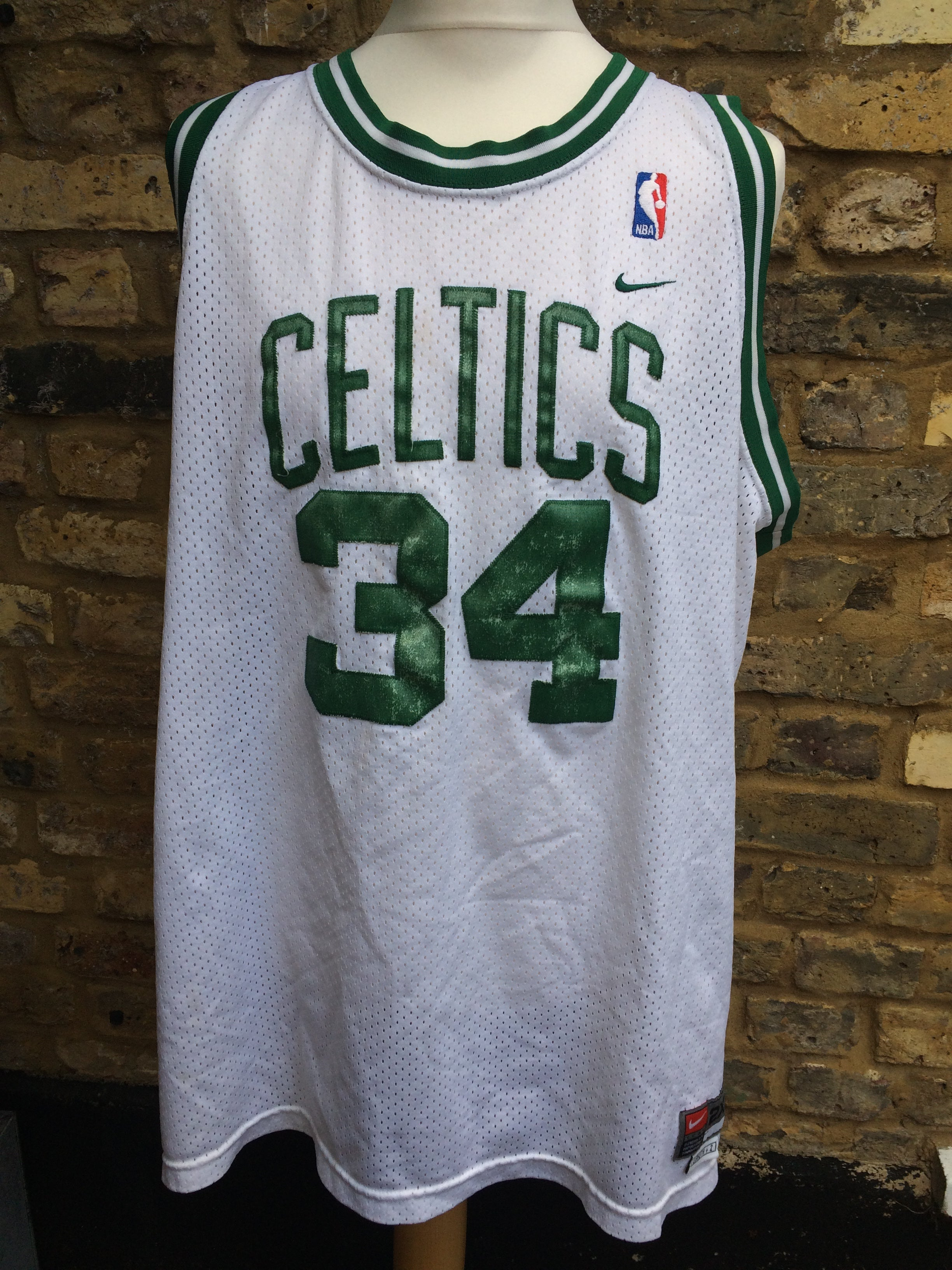 low priced 3e0da c1048 Vintage Pierce x Celtics Jersey (XL) – Column11