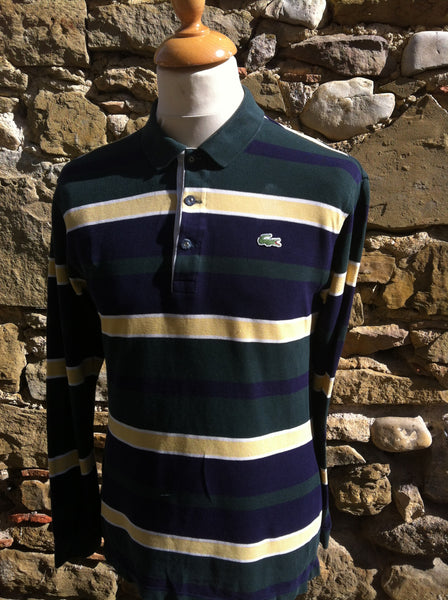 Forest Green Lacoste long sleeve Polo (XS/S)