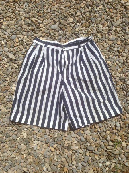 Nautical Lacoste striped Shorts (M)