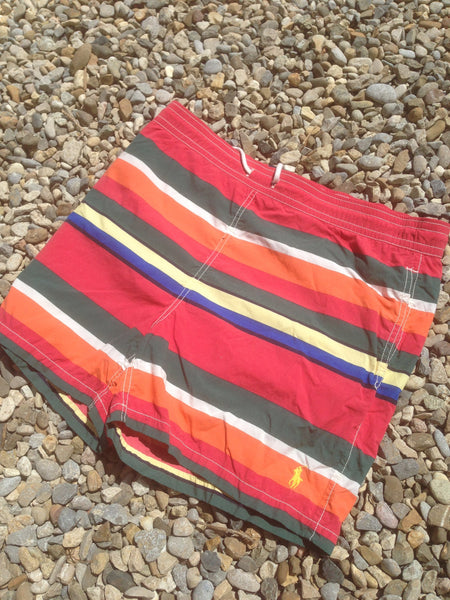 Summer striped Polo Shorts (M/L)