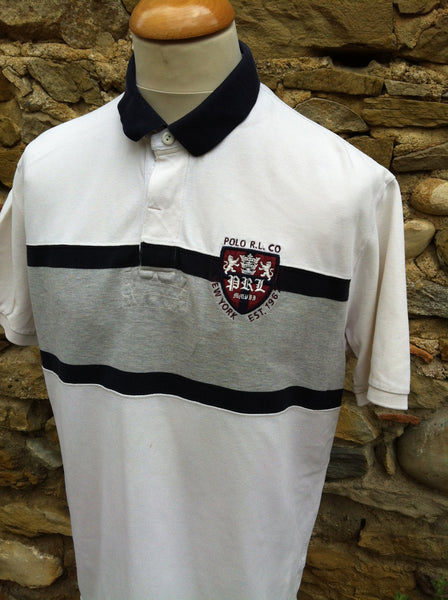 Vintage Ralph Lauren Polo NY Badge Shirt