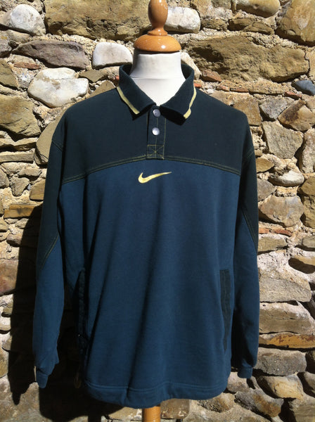 Vintage mixed Green Nike 1/4 Sweater