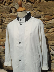 Vintage White YSL Mac Jacket (M)