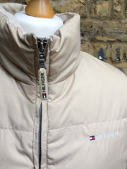 Tanned Hilfiger down Puffer Jacket (L)