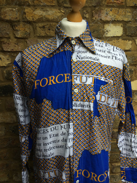 Vintage Forces du Futur Shirt (S/M)