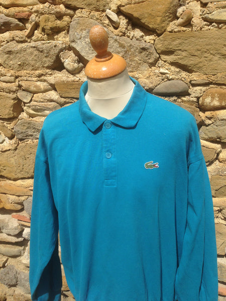 Vintage teal chemise Lacoste Sweater (M/L)