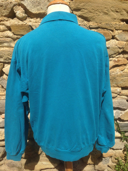 ml Sweater Lacoste Vintage Chemise Teal xSa6R