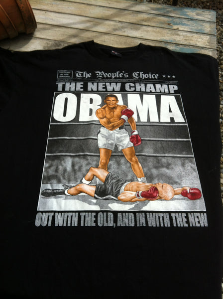Obama 'out with the old' Printed Top