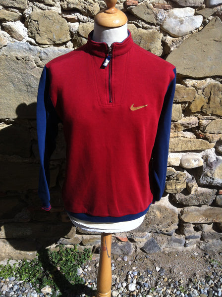 Vintage Nike Inc. Block Sweater