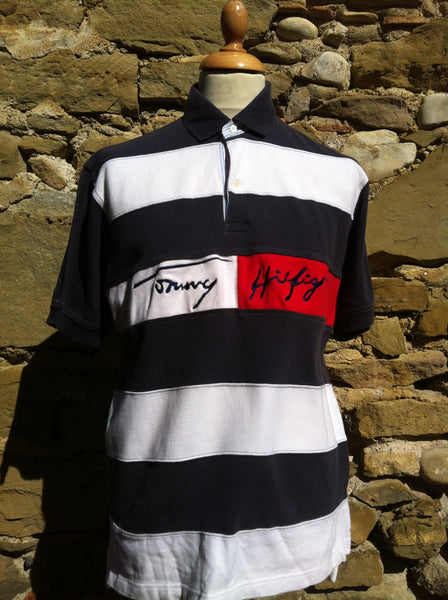 Cord Tommy Hilfiger script Polo