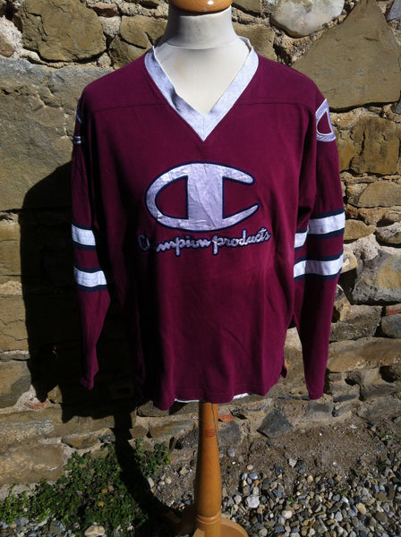 Early Maroon Champion products Jersey