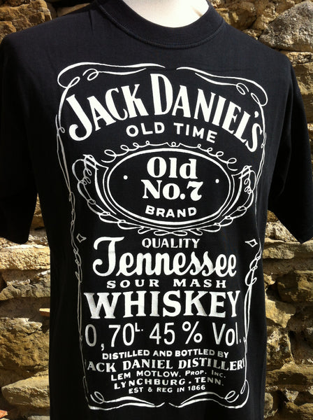 Original Jack Daniels Printed Top