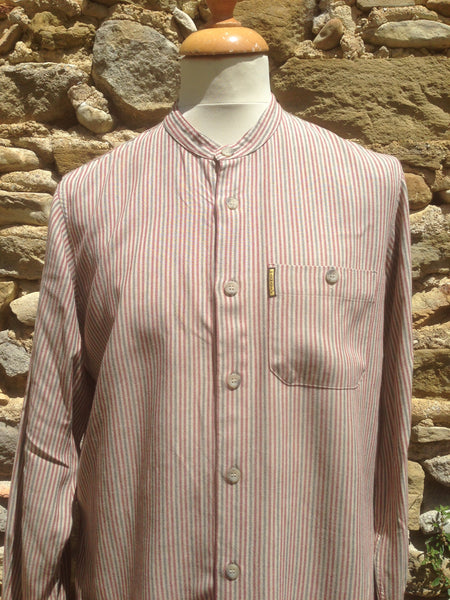Vintage pastel striped Armani button up