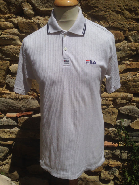 Vintage ribbed Fila Polo Shirt (S/M)