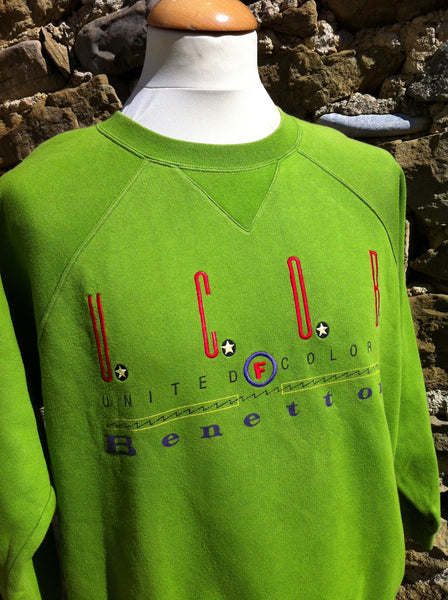 Vintage  United Colours of Benetton Pullover