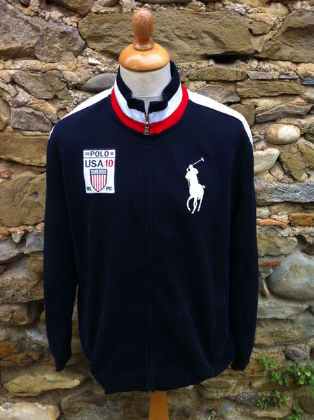 Vintage Polo K-Swiss track zip up