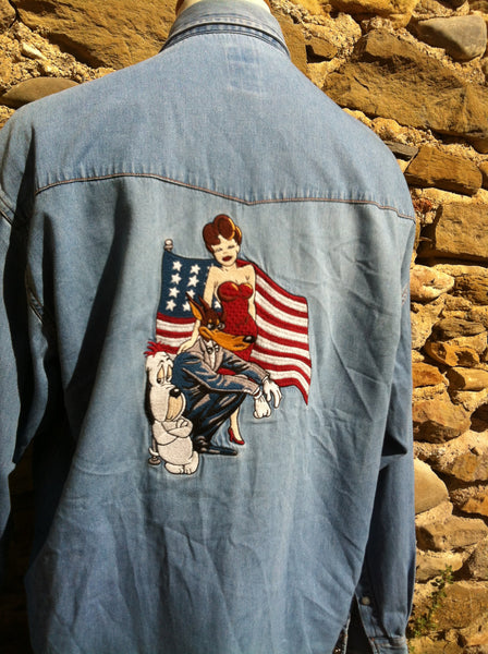 1997 Studio Adventures Denim Shirt