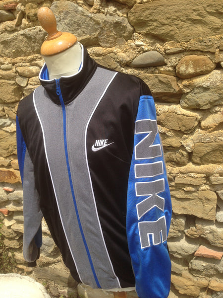 Vintage Nike spellout Track Jacket