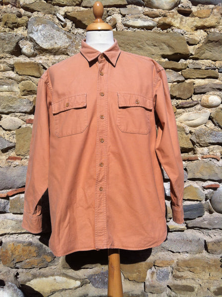 L.L Bean pastel Work Shirt (XL)