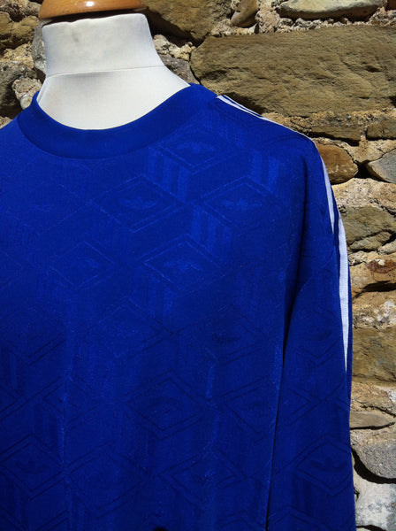 Vintage monogram Navy Trefoil Sports Shirt