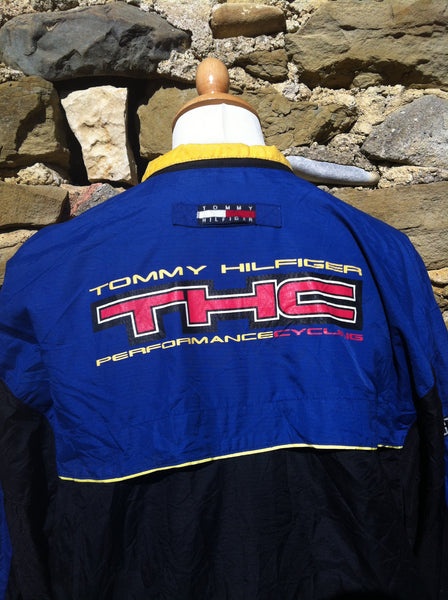 Vintage Tommy Hilfiger Cycling Gear Jacket