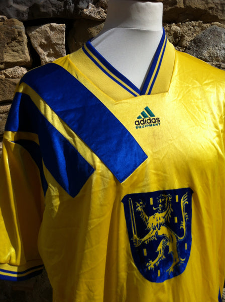 Vintage Adidas Equipment Blue Lion Sports Shirt