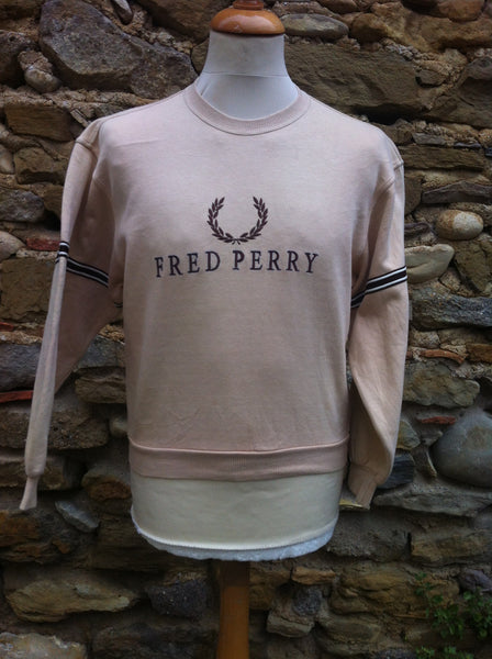 Vintage brown toned Fred Perry Sweater