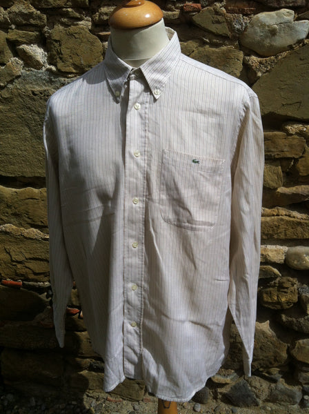 Lacoste striped thread Shirt (L)